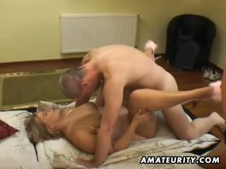Amateur groupsex with 2 chicks and 2 dicks