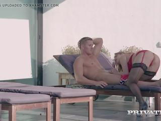 Private Com - Pale Ginger Julia Red Butt Fucked &...