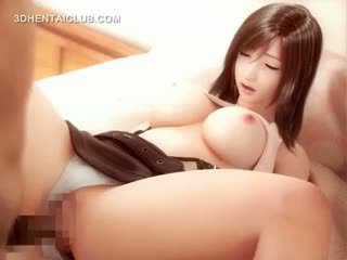 Hentai Cutie Pussy Fucked Intensely In 3d Anime
