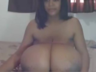 Monster Natural Tits Milked and Tied, Porn ee