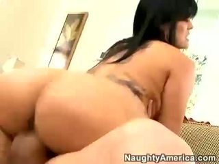 Olivia Olovely riding her wet twat on a hard dick