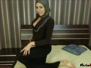 Arab hijab lány needs fasz