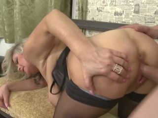 Mom with Big Saggy Tits gets Taboo Sex, Porn 85