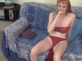 Yanks Daphne Wake's Romance Reading to Masturbate: Porn 32