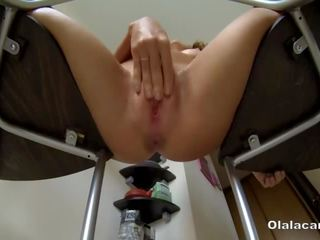 ideaal slank, alle spuitende film, vol webcam