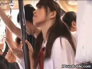 Sexy japanese teens fuck in public places 06