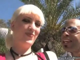 Cherry Torn gets nailed by two black dudes