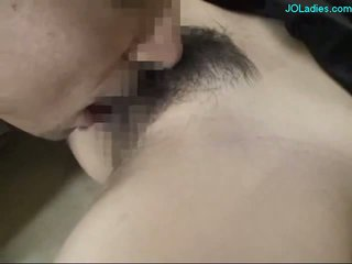 Unconscious Office Lady Getting Her Tits Rubbed Hairy Pussy Licked And Fucked By 2 Cleaners At The Corridor