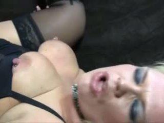 Blondine rijpere bbw anaal