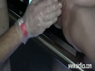 Extreme Teen Slut Fist Fucked By Perverted Old Men
