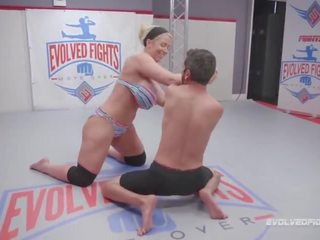 Tit Mixed Wrestling Big Wrestling