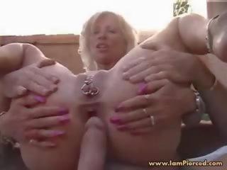 ruw, oma gepost, gratis doorboord porno
