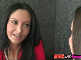 Ava Addams shared cum with Shae Summers