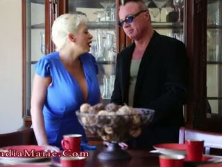 Claudia marie impregnated and then silit fucked by bastard stepson