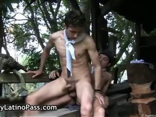Anthony and Mauricio latin gay fucking