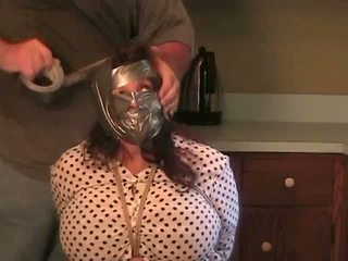 Elane Bound in the Kitchen Big Blindfold, Porn 03