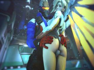 Mercy e evil mercy in overwatch avere sesso