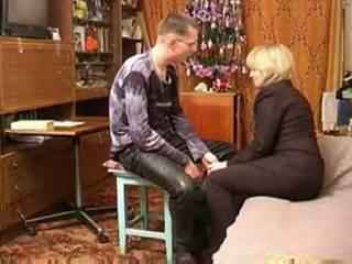 chłopak, mama, rosyjski, xvideos