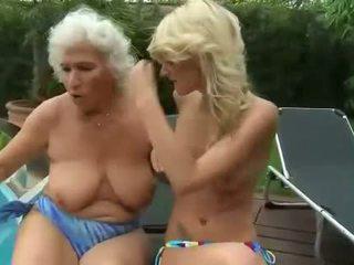 nieuw oud, lezzy porno, vers lezzies scène