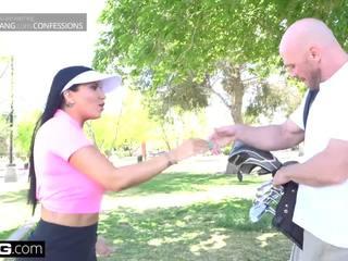 Teachers pet Romi Rain Fucks her golf instructor
