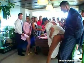 frisch wedding schön, sie blowjob, sehen partei