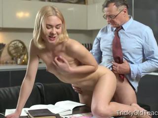 Tricky Old Teacher - Old Teacher and His Student Break