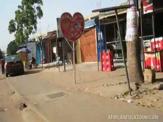 Afrikaly non-professional caresse.