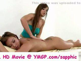 nice lesbian, ideal massage