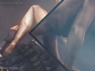 nieuw cowgirl scène, spotprent vid, hentai klem