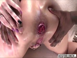 Kelly Divines big tight ass gets destroyed by her boyfriend with a BBC