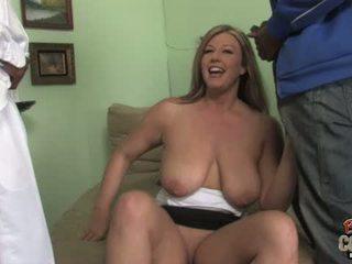 Busty MILF Zoey Andrews in a lusty interracial thr