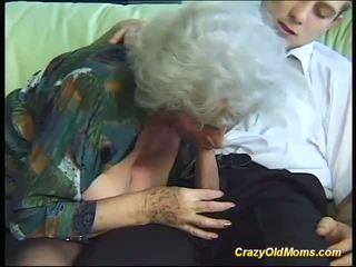 gammel, aldrende, bestemor