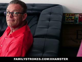 Familystrokes - Step-son Seduces by Hot MILF: Free Porn cc
