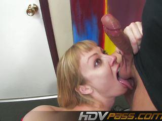 Blonde Big Tit Deep Throat Fucking Adrianna Nicole: Porn 8b