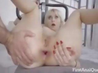 controleren geneukt klem, zien gapende video-, online anaal mov