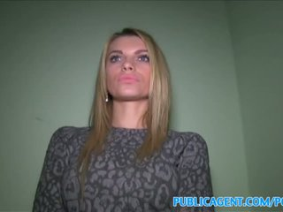 PublicAgent Tall blonde fucks for money - Porn Video 391