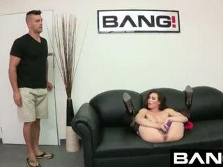 Casey calvert gets marked un used uz exlusive bang! footage <span class=duration>- 10 min</span>