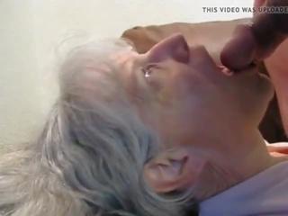 ideaal cum in de mond, oma, heet grannies porno