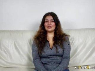 brunette movie, hot chubby, big tits sex