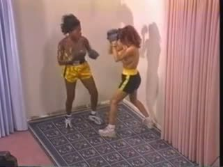 Naked Interracial Boxing (requested slow-mo)