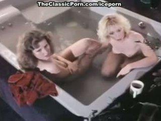 JoAnna Storm, Renee Summers, Eric Edwards In Nasty Bathtub