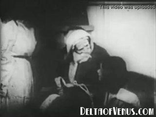 Redki 1920s antično božič porno - a božič tale