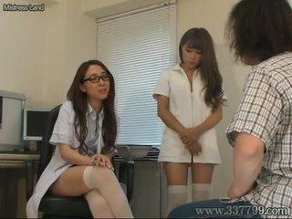 japanese, more cfnm more, nurse best