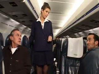 zien uniform, een stewardess tube
