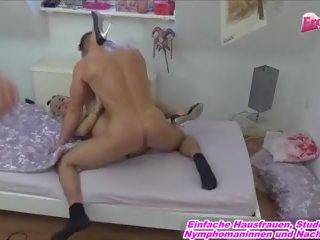 German Turkish Blond Bitch Private Fuck No Condom: Porn 9b