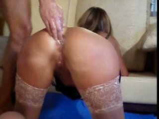 Extreme mature amateur huge anal insertions and gaping fetish