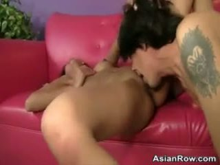 Skinny 18 Year Old Asian Maid Gets Fucked