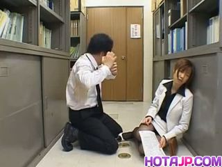 japanese, cum, body, office