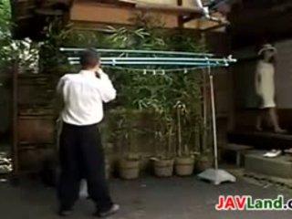 Jaapani milf imemine tema neighbors riist
