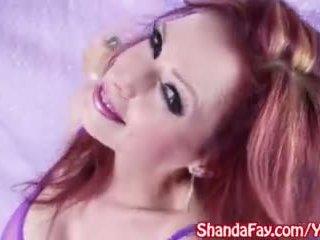 Sexy Milf Shanda Fay Gives Sloppy Blowjob!